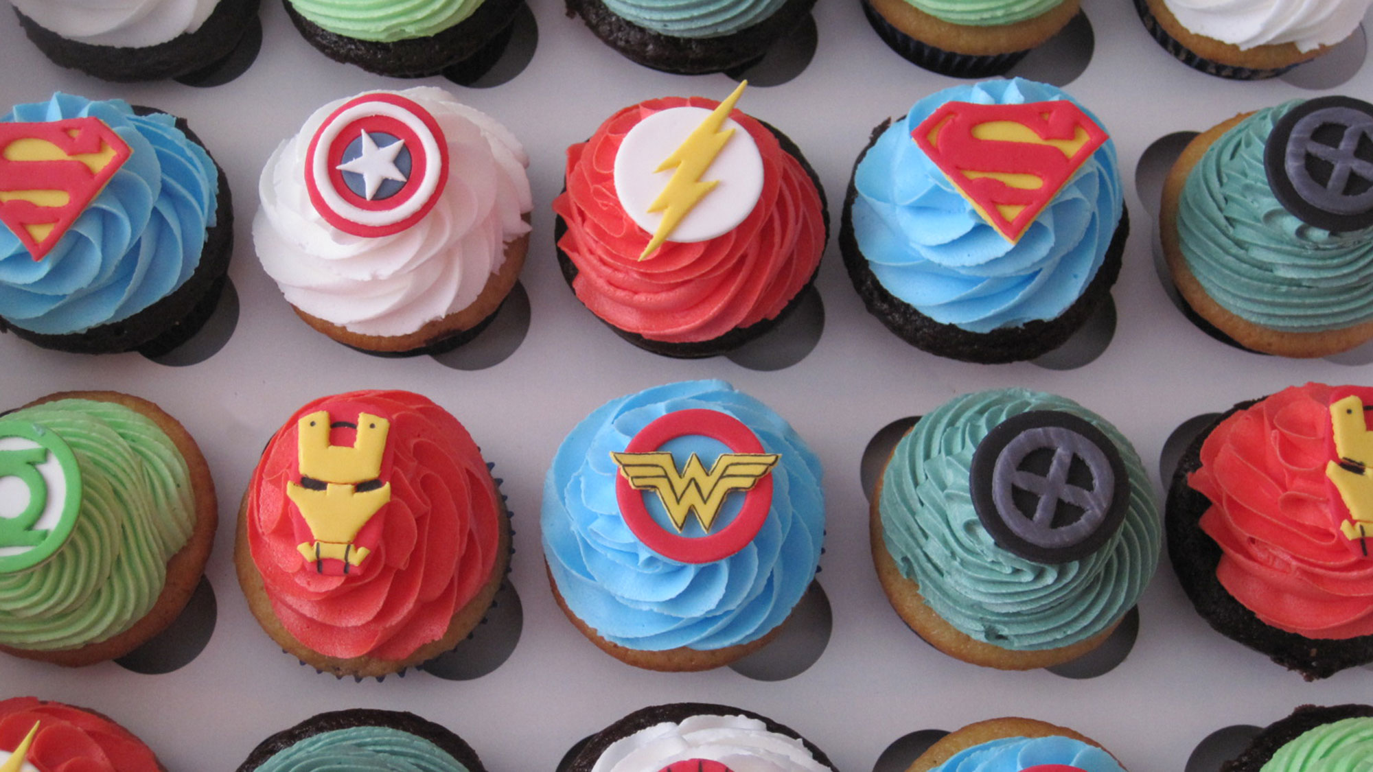 Be the next birthday hero with delicious custom cupcakes!