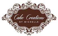 Cake Creations by Michelle Sticky Logo